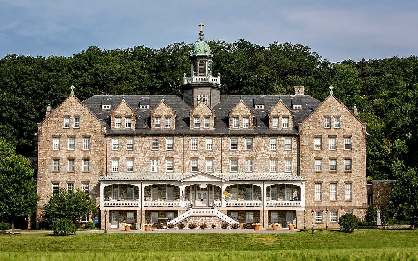 Mount St. Mary's Seminary - a deacon looking to the future