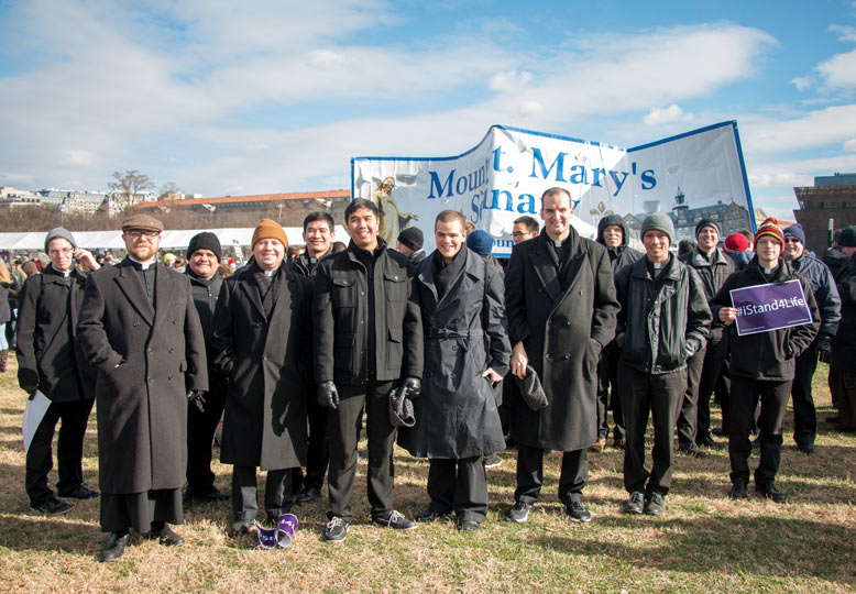 Seminarians at March for life